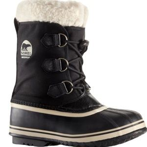 SOREL BLACK YOOT PAC TP Winter Boot Size Youth 1
